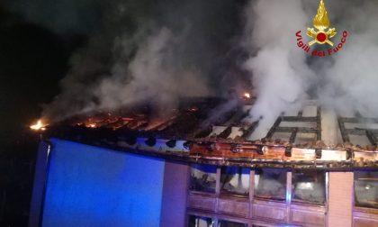 Incendio a Gambellara: gravi danni