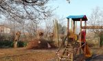 Parco degrado Marano tra ramaglie e immondizia