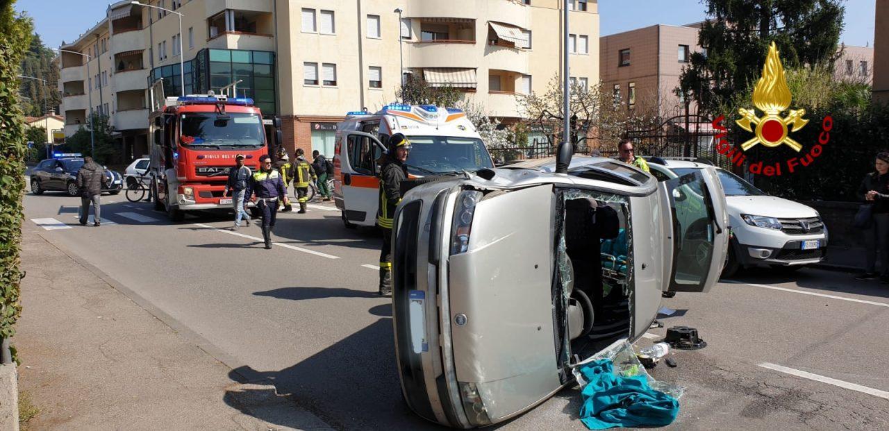 Incidente stradale ad Arzignano