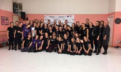 Kledi Kadiu alla Scuola di Danza San Bassiano