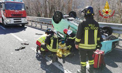 Valbrenta incidente a Solagna donna moldava ferita