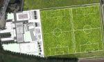 Campo da calcio sintetico in quartiere Pré