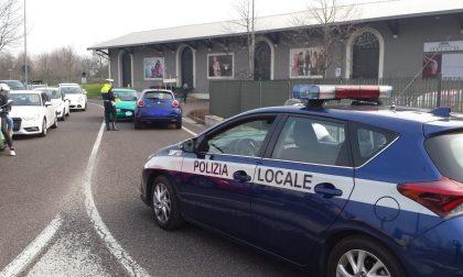 Frontale con feriti in via Baccarini