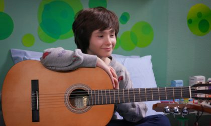 Giacomo Vigo giovane attore per la Disney
