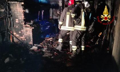 Arzignano: la taverna in fiamme