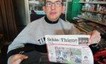 Diversamente abile realizza il sogno di vendere i giornali