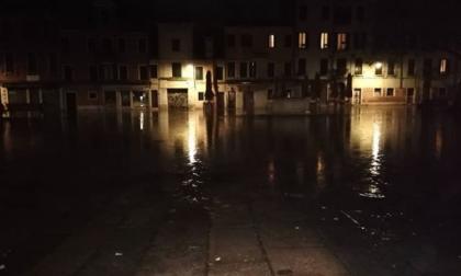 Acqua alta a Venezia è record ad aprile non succedeva dal 1936