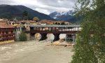 Il Brenta fa paura: chiuso il Ponte degli Alpini VIDEO