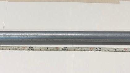 Fermato per un controllo viene trovato in possesso di un tubo metallico