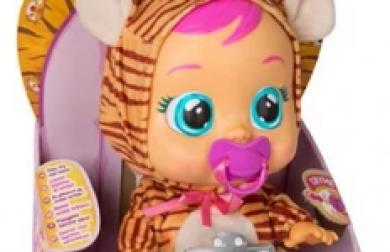 La bambola Cry Babies Nala Tigrotto ritirata dal mercato per ftalati