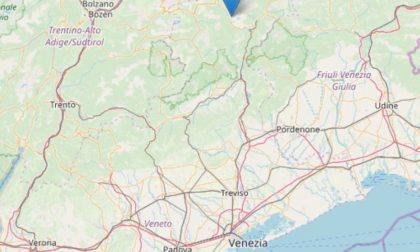 Terremoto in Veneto, magnitudo 2.1