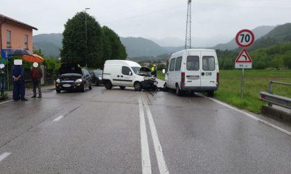 Incidente a Schio: feriti i due conducenti