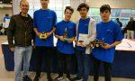 I cervelloni informatici raggiungono il podio alle Nazionali di robotica
