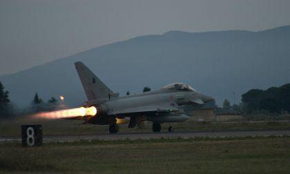 Scatta l'allarme nei cieli, un Eurofighter decolla da Istrana