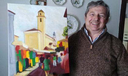 Egidio Venzo, trovare la gioia tra colori e pennelli su tela