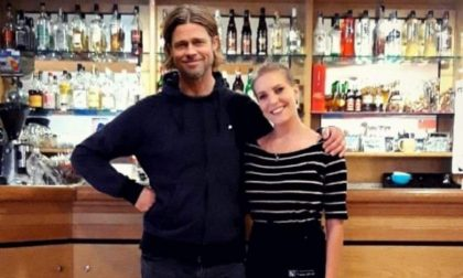 La superstar americana Brad Pitt nel Trevigiano