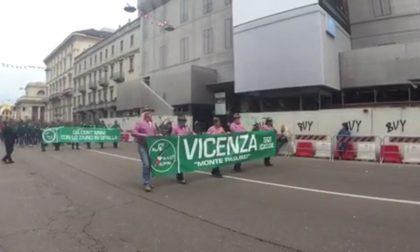 Gli Alpini di Vicenza all'Adunata di Milano VIDEO