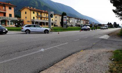 Santorso: ciclista 60enne rimane ferito nell'incidente