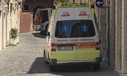 Intervento dei vigili del fuoco in via Zaccaria Bricito