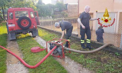 Bomba d'acqua: interventi a Schio, Torrebelvicino e Malo