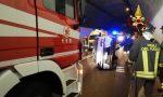 Auto rovesciata in galleria: coppia ferita