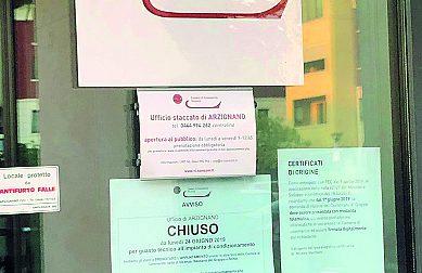 Climatizzatore ko: chiude la Camera di Commercio di Arzignano