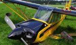 Aereo finisce fuori pista durante il decollo ad Asiago