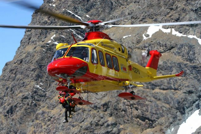 Valli del Pasubio: alpinista sbatte contro la roccia, serve l'elisoccorso