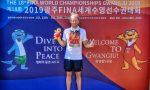 Giacomo Rigon a Gwangju per i Mondiali di nuoto