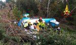 Aereo da turismo precipita in un bosco a Gallio: feriti i due piloti