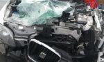 Incidente tra un'auto e un camion: Deceduta una donna 52enne