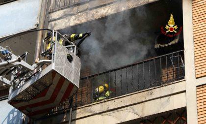 Fiamme in un appartamento a Vicenza: Salvato un uomo