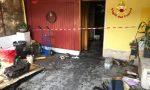 Garage in fiamme: consistenti i danni subiti
