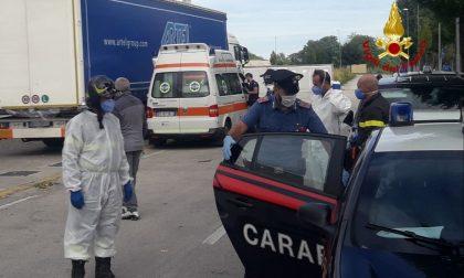 Pompieri in azione a San Vito di Leguzzano per salvare clandestini