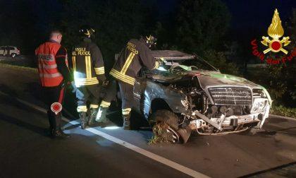 Grave incidente nella notte: Feriti i conducenti