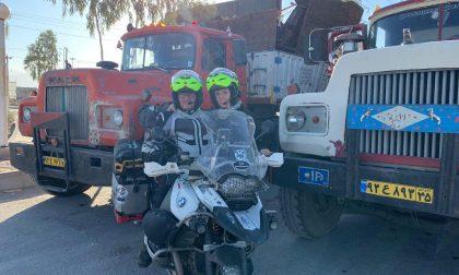 11mila km in sella alla loro moto fino all'Iran