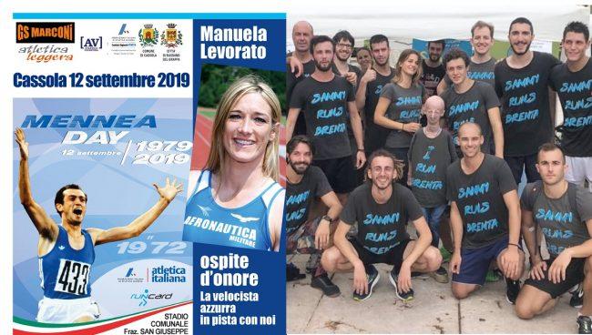 Al Mennea Day Manuela Levorato, Cosetta Campana e Sammy Basso