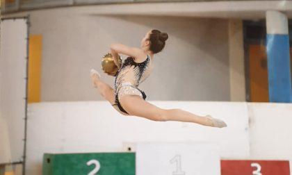 Sara Ragazzi è d'oro nella ginnastica ritmica