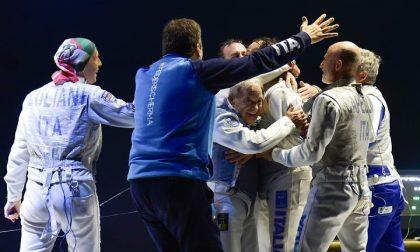 Fabrizio Capellini conquista l'oro ai mondiali di scherma