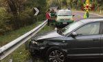 Perde il controllo lungo la strada del Costo e finisce contro il guardrail