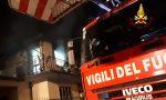 In fiamme un'abitazione: distrutto il primo piano