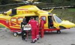 Schianto a Rosà, ragazzo trasportato all'ospedale San Bortolo in elisoccorso