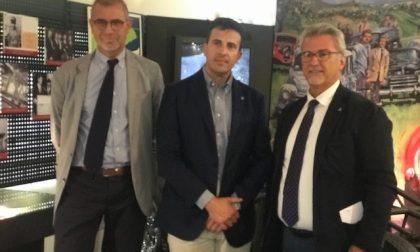 """L'assessore Cristiano Corazzari in visita al Museo """"Bonfanti-VIMAR"""""""