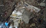 Rifiuti e segni di bivacchi al cimitero vecchio di Magrè