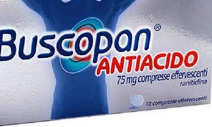 Ranitidina, farmaci ritirati per rischio cancro: si aggiunge anche Buscopan Antiacido