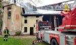 In fiamme un'abitazione: Completamente distrutta