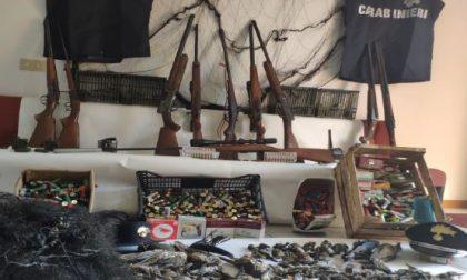 Sequestri di armi e cacciagione: Carabinieri Forestali impegnati in due operazioni