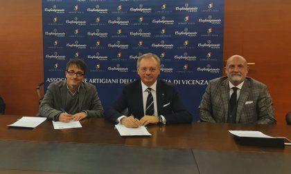 Siglato l'accordo tra Confartigianato e AIM Amcps