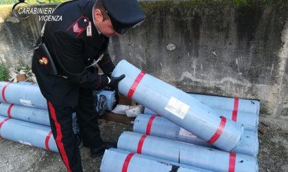 Rubano rotoli di materiali utilizzati per l'asfaltatura: Denunciati dai Carabinieri