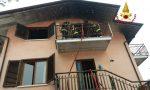 Canna fumaria prende fuoco: L'incendio si estende al materiale della soffitta